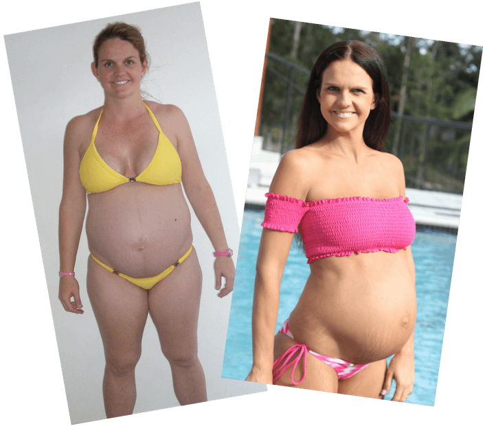 Sharny PregFit Transformation (pregnancy)